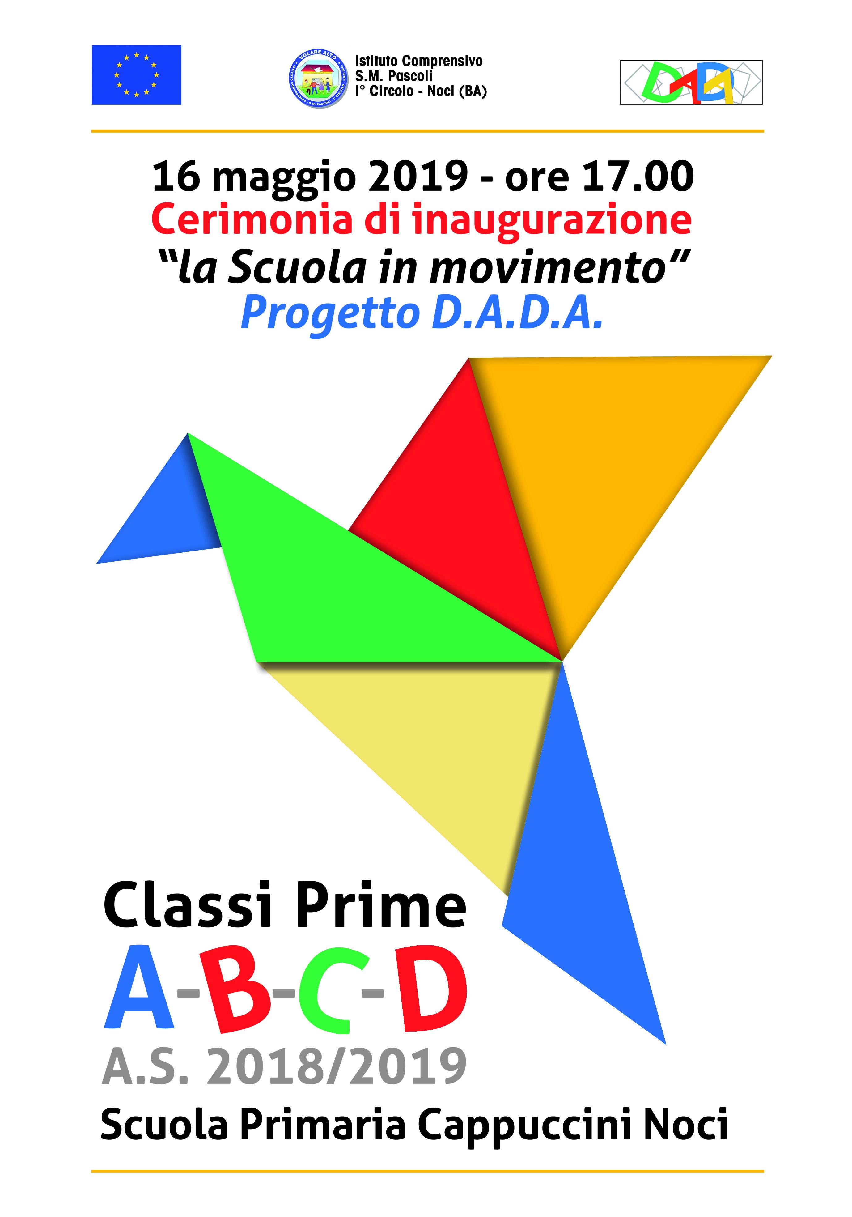 Progetto D.A.D.A. – La scuola in movimento